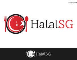 #89 cho Design a Logo for HALAL SG.COM bởi digitalmind1