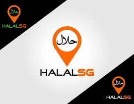 nº 93 pour Design a Logo for HALAL SG.COM par galihgasendra