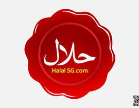 #105 for Design a Logo for HALAL SG.COM af dodikwong