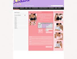 nº 16 pour Custom Oscommerce Template - Jubilane Website Design par iamwiggles