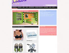 #15 for Custom Oscommerce Template - Jubilane Website Design af iamwiggles