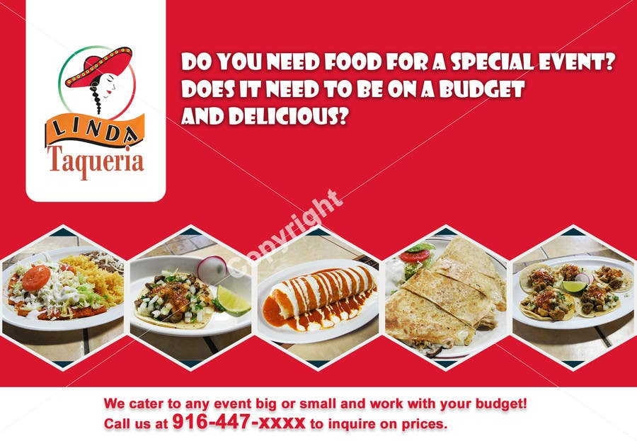 Design an Advertisement for Food Catering   Freelancer
