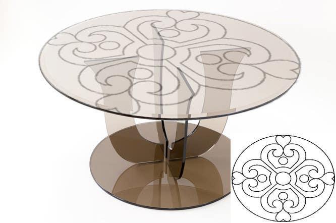 Bài tham dự cuộc thi #                                        14                                      cho                                         Designs for Glass Table Tops
