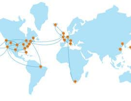 #6 untuk Geographical Network Map for Marketing oleh fat94