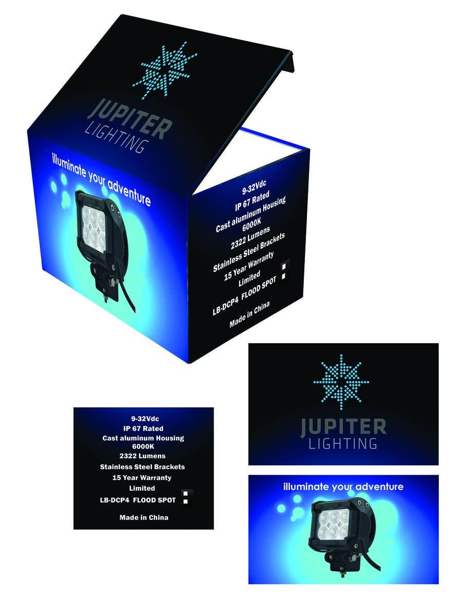 Penyertaan Peraduan #2 untuk Jupiter Display Box design