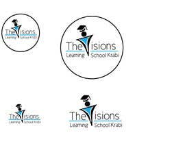 nº 16 pour Design a Logo for our school ( The Visions Learning School) par mmbertasi