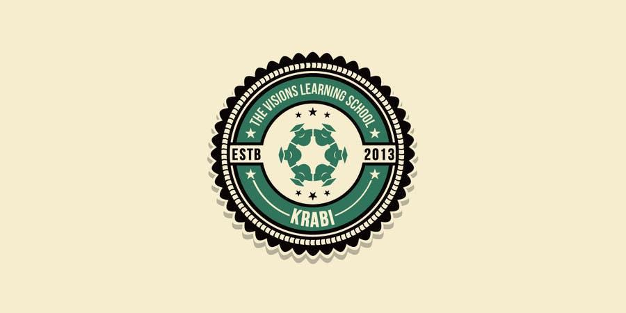 Penyertaan Peraduan #6 untuk Design a Logo for our school ( The Visions Learning School)