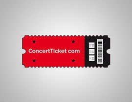#92 para Design a Logo - ConcertTicket.com de MissingElement