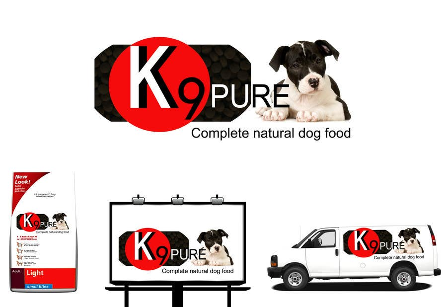 Contest Entry #                                        80                                      for                                         Graphic Design / Logo design for K9 Pure, a healthy alternative to store bought dog food.