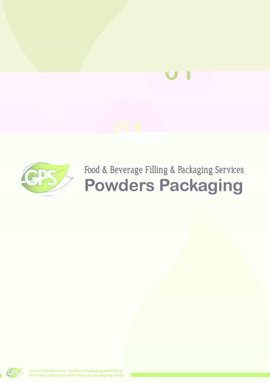 Inscrição nº                                         7                                      do Concurso para                                         Design a Brochure for Green Pack Services