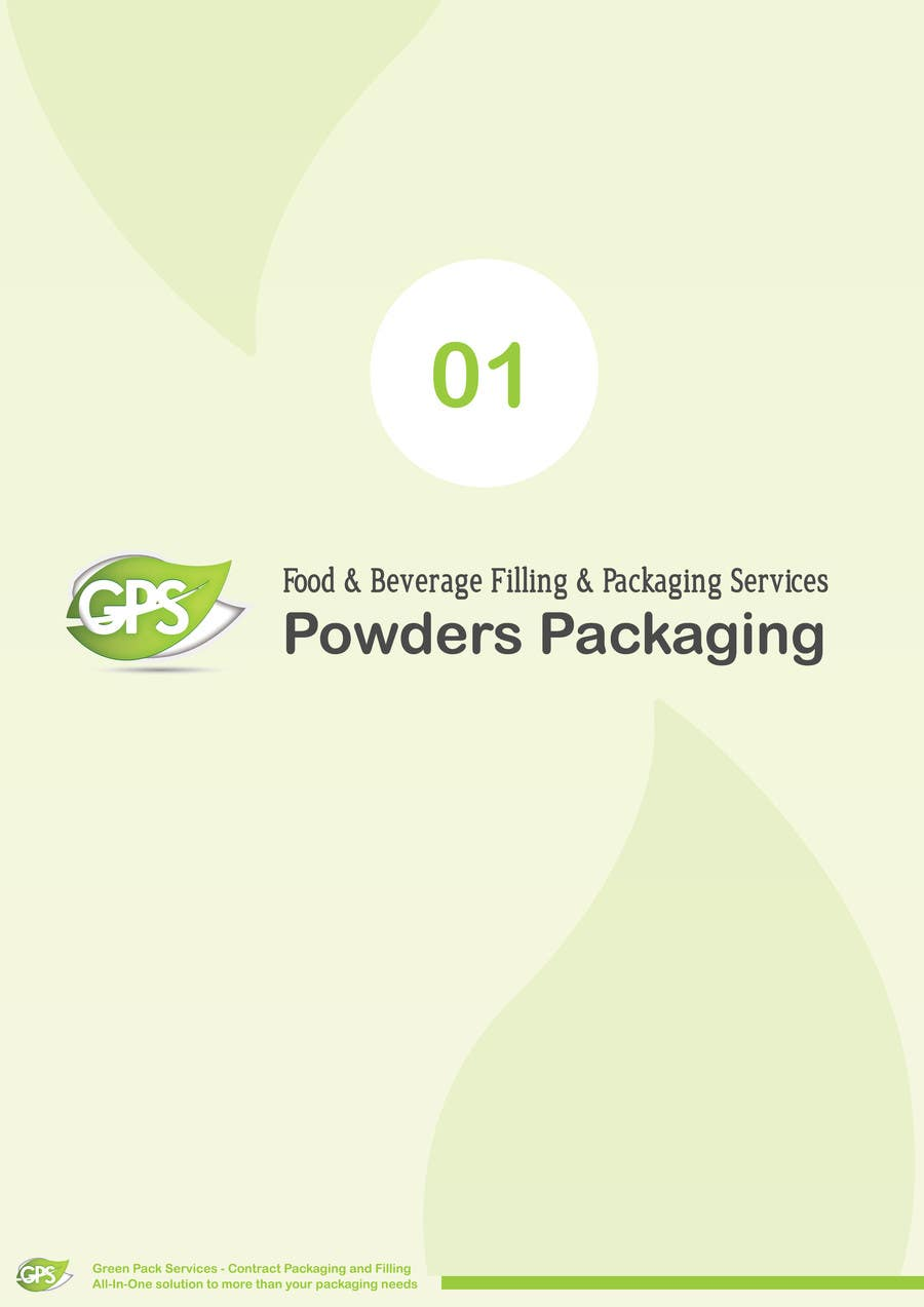 Inscrição nº                                         8                                      do Concurso para                                         Design a Brochure for Green Pack Services