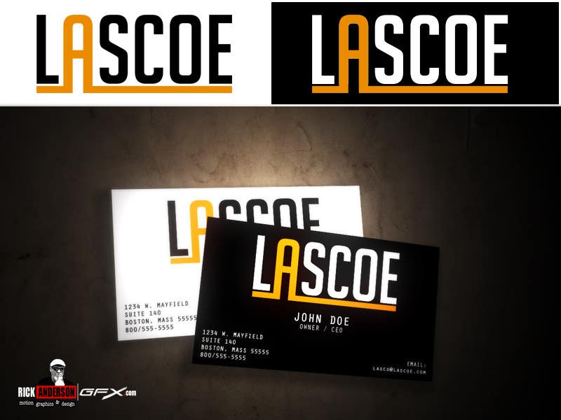 #45 for Design a Logo for my company LASCOE !!! by RandersonGFX