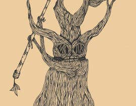 #32 para Draw an Ash Tree with character por fitrapratama