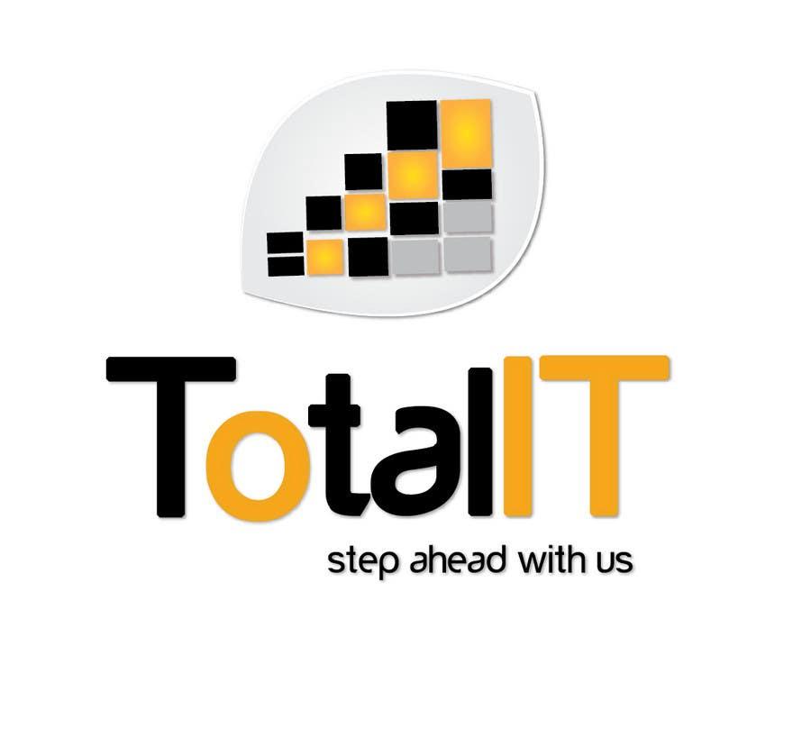 Penyertaan Peraduan #                                        612                                      untuk                                         Logo Design for Total IT Ltd