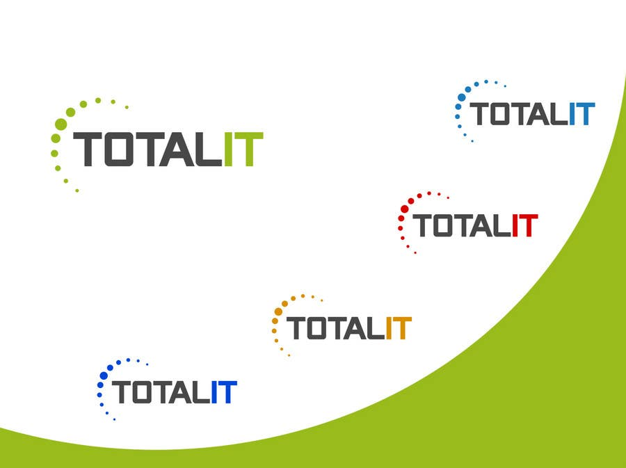 Konkurrenceindlæg #                                        819                                      for                                         Logo Design for Total IT Ltd