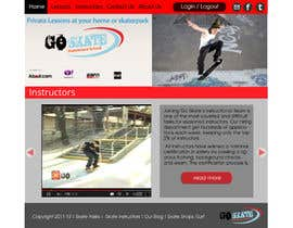 nº 13 pour Build a new Website for Goskate.com par lauranl
