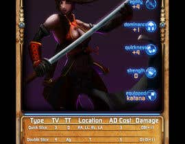 nº 16 pour Re-design this game card front and back. par filipstamate