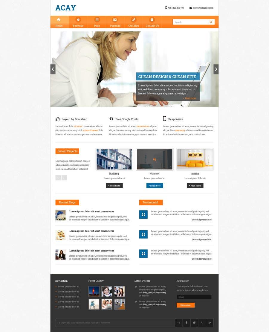 #1 for Create a Wordpress Template for Garage Door Guys responsive website by phpleaderpro