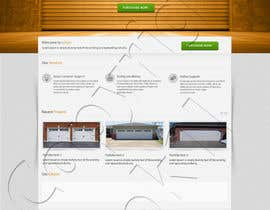 #8 for Create a Wordpress Template for Garage Door Guys responsive website af kpk1l