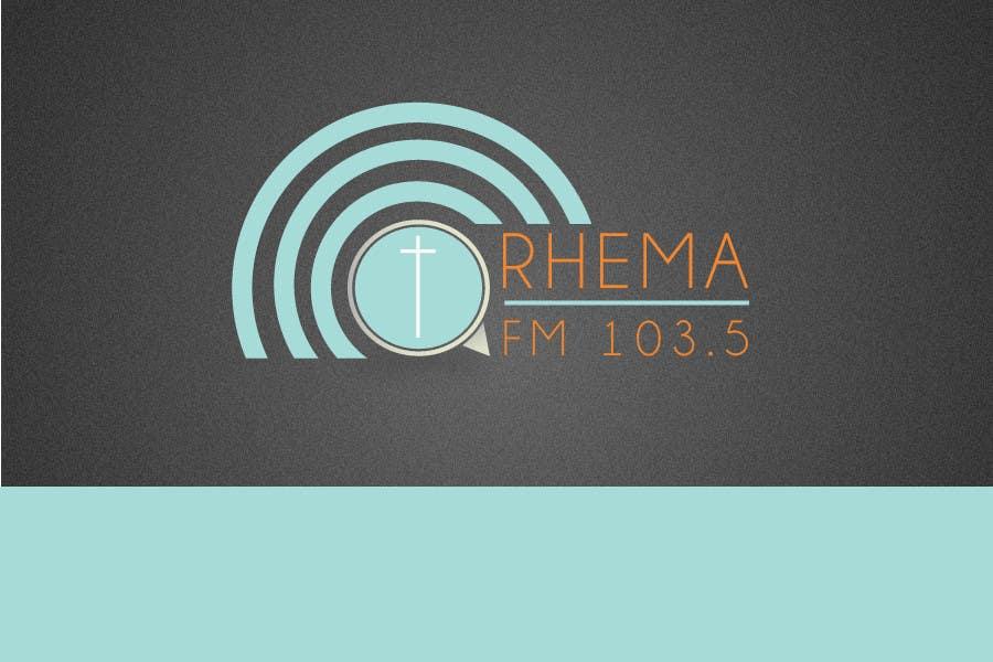 Inscrição nº 52 do Concurso para Logo Design for Rhema FM 103.5