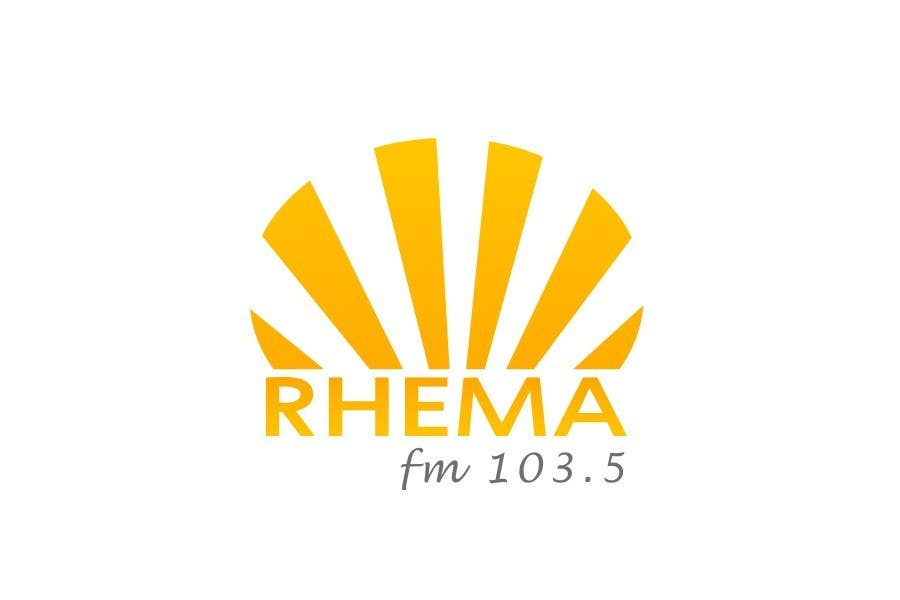 Konkurrenceindlæg #409 for Logo Design for Rhema FM 103.5