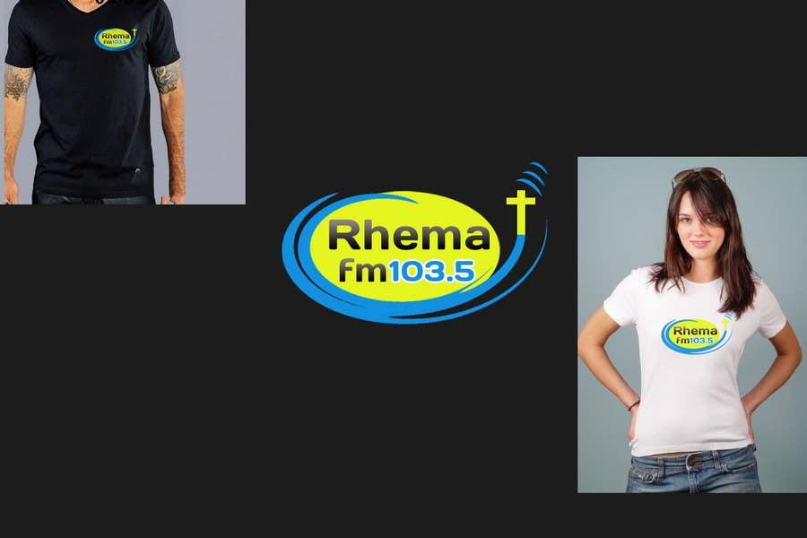 Inscrição nº 349 do Concurso para Logo Design for Rhema FM 103.5