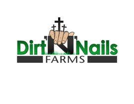 #41 for Design a Logo for Dirt 'N' Nails Farms company by DeakGabi