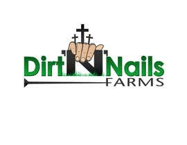 #42 for Design a Logo for Dirt 'N' Nails Farms company by DeakGabi