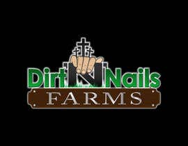 nº 50 pour Design a Logo for Dirt 'N' Nails Farms company par DeakGabi