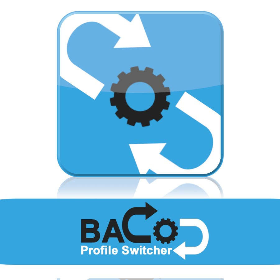 #9 for Design a logo of app: BACO ProfileSwitcher by carsonarias
