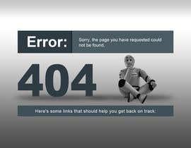 #35 cho Custom 404 page design bởi DezineGeek