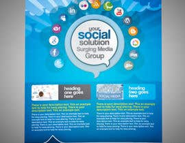 nº 4 pour Design a Flyer for Surging Media Group par abdelaalitou