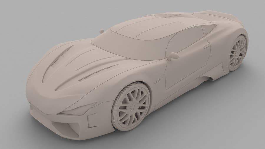 Entry #3 by oricdark for A 3D model of my car drawings for
