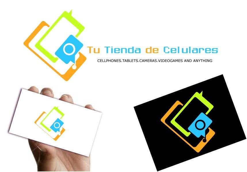 #46 for Logo design for Cellphones store by shobbypillai
