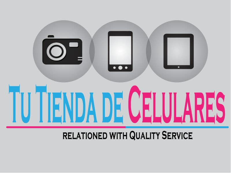 #67 for Logo design for Cellphones store by gpatel93