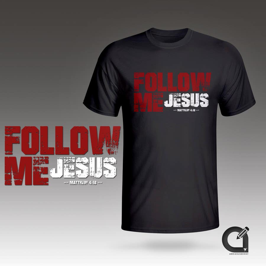 Shirt design needed -  16 Text Only T Shirt Design Needed For Christian Online Business Adrianusdenny