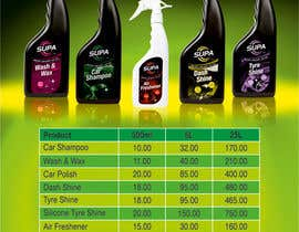 #5 for Design a Flyer for Car Care Detergents by linokvarghese