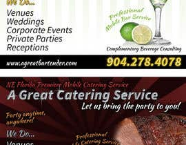 #39 para Design a Flyer for Catering and a Bartending Business - Future Work Needed Also por davidgraeme