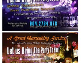 #26 para Design a Flyer for Catering and a Bartending Business - Future Work Needed Also por b74design