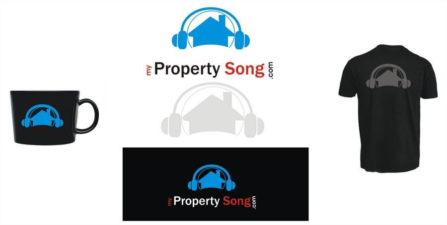 Конкурсная заявка №479 для Logo Design for PropertySong.com or MyPropertySong.com