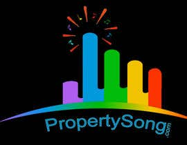 #471 for Logo Design for PropertySong.com or MyPropertySong.com af dilanaruna