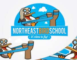 #44 cho Logo Design for Northeast Bird School bởi marcoartdesign