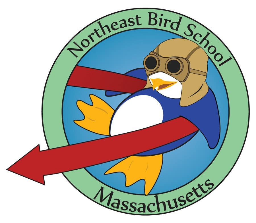 Inscrição nº                                         22                                      do Concurso para                                         Logo Design for Northeast Bird School