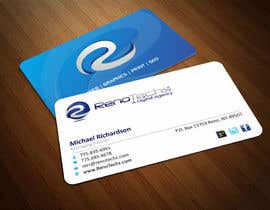 nº 26 pour Design some Business Cards for BUSINESS CARD FOR NEW ONLINE MARKETING AGENCY par ezesol