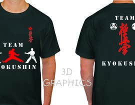 #72 cho Design a T-Shirt for karate organization bởi pak2013pak