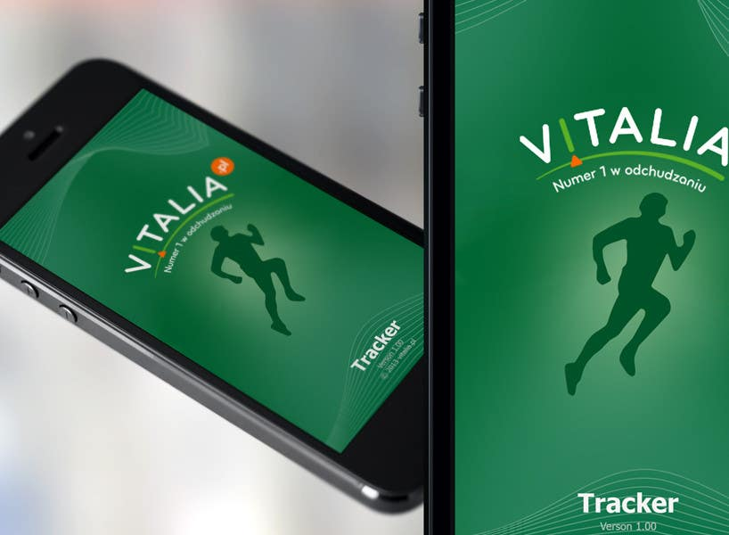 "#151 for Design for mobile app ""Vitalia tracker"" (design only) by JustLogoz"