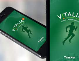 "#151 para Design for mobile app ""Vitalia tracker"" (design only) por JustLogoz"