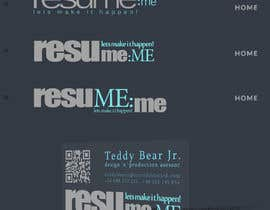 #11 untuk Logo and Business Card for Resume:Me oleh simpleform