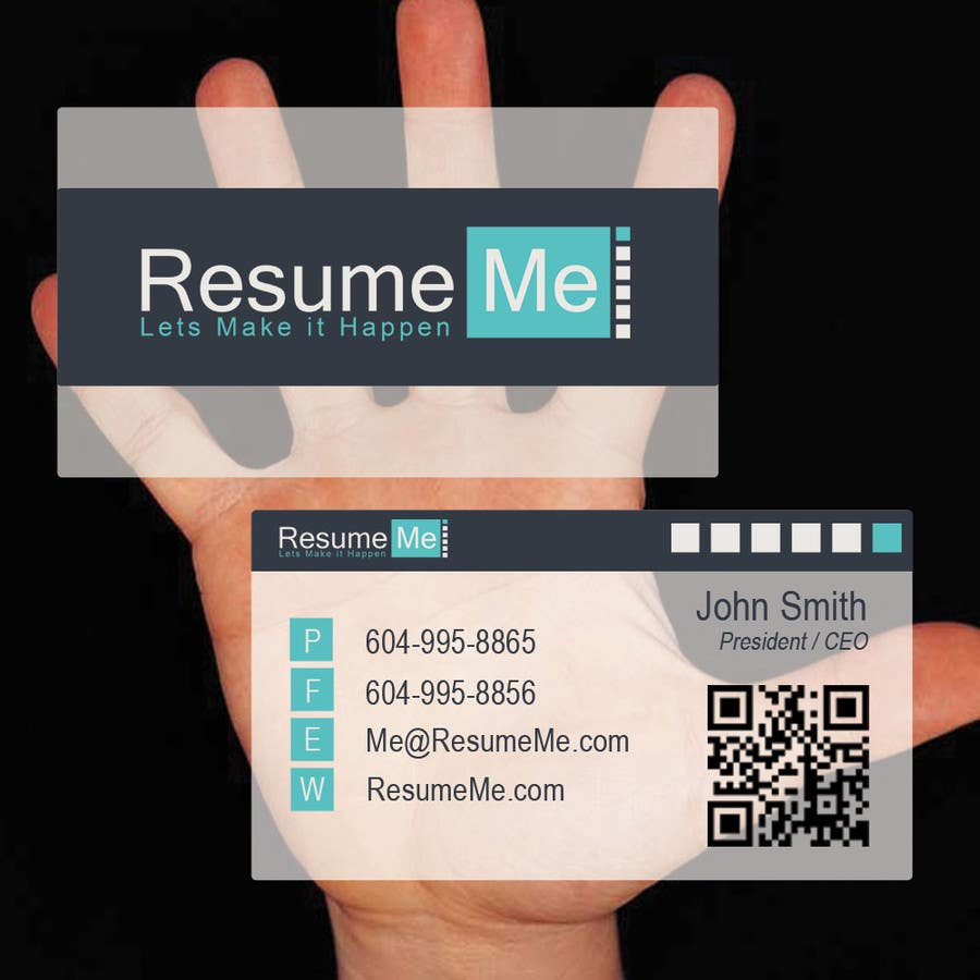 #45 for Logo and Business Card for Resume:Me by RocketFlock