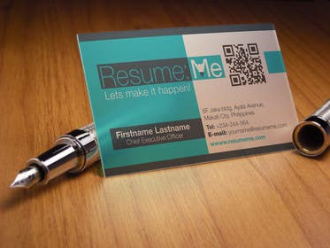 #72 for Logo and Business Card for Resume:Me by kdneel